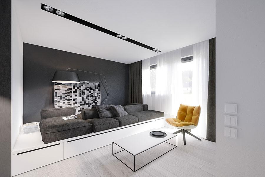 Arredamento per casa piccola in stile moderno n.19