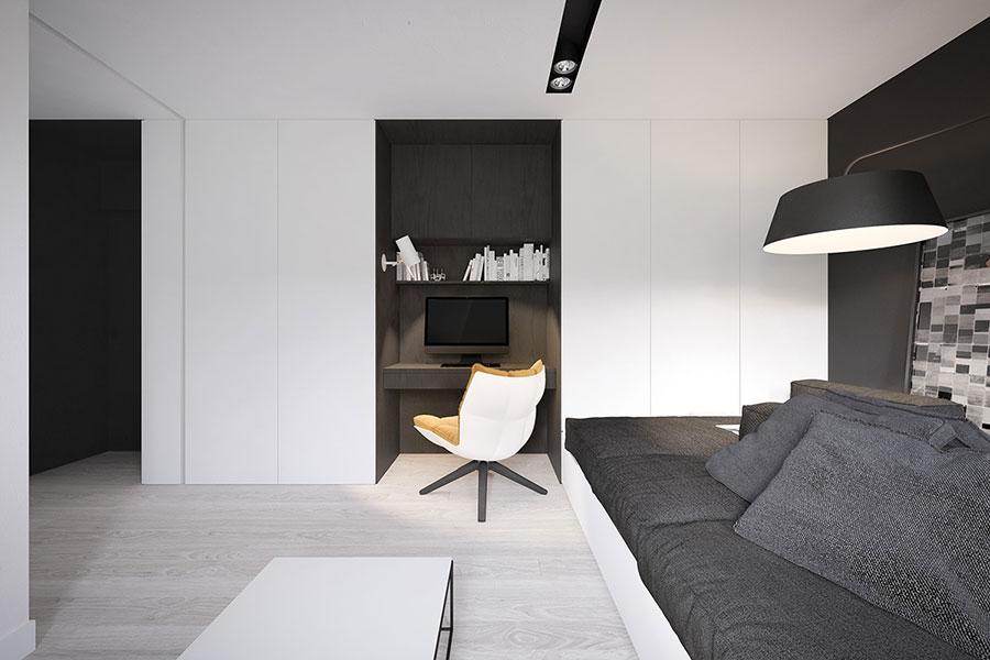 Arredamento per casa piccola in stile moderno n.20
