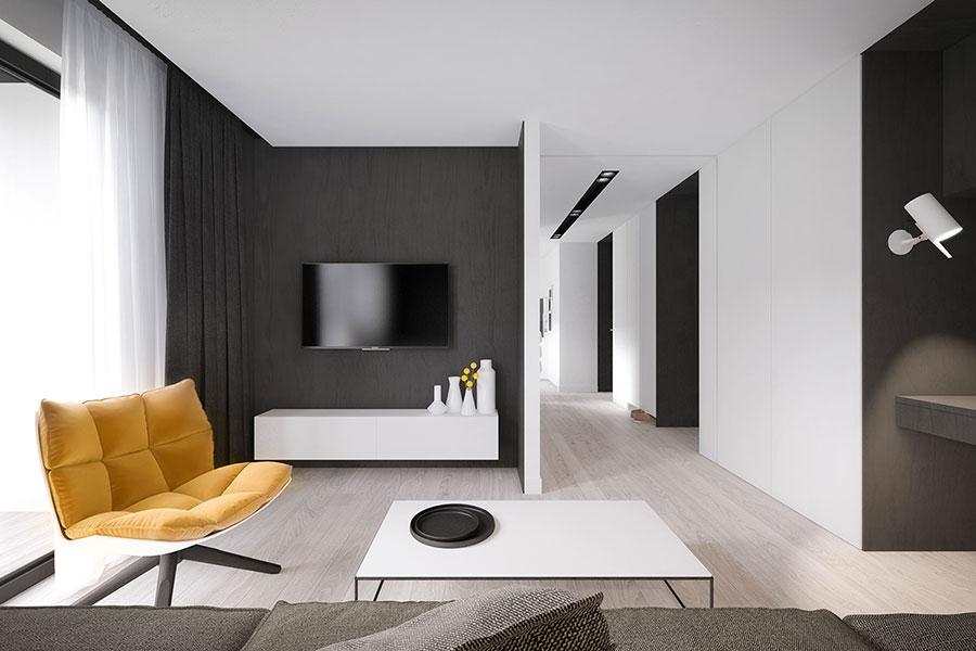 Arredamento per casa piccola in stile moderno n.21