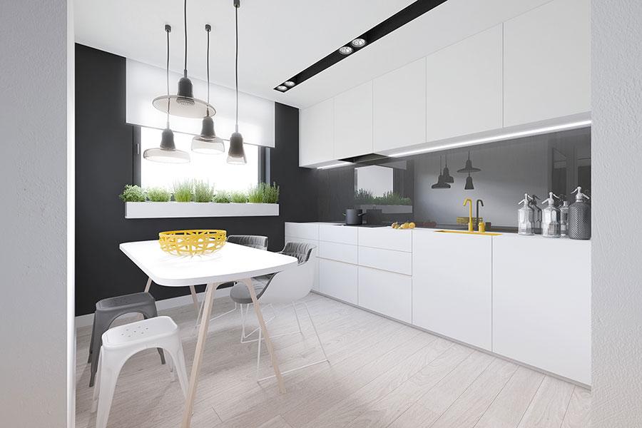 Arredamento per casa piccola in stile moderno n.22