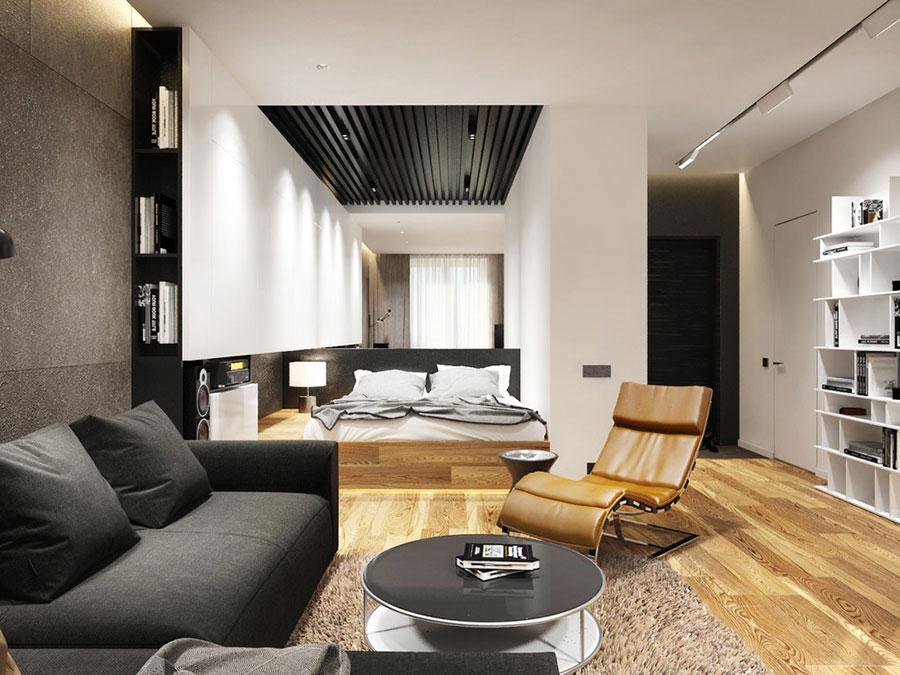 Arredamento per casa piccola in stile moderno n.26