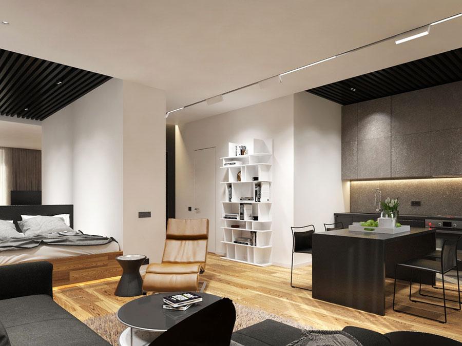 Arredamento per casa piccola in stile moderno n.27