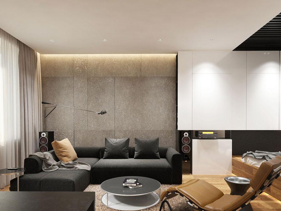 Arredamento per casa piccola in stile moderno n.30