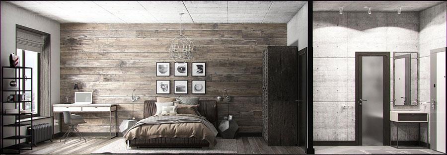Idee per arredare una casa piccola in stile industriale n.05