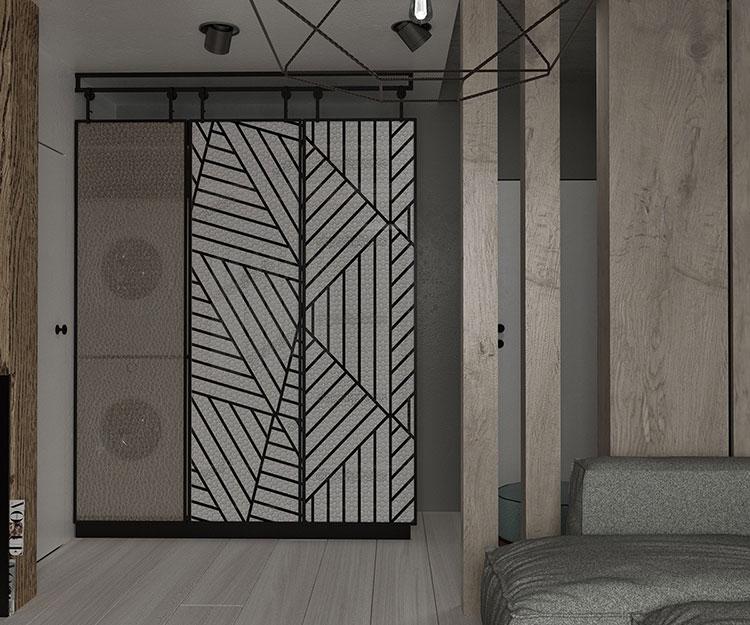 Idee per arredare una casa piccola in stile industriale n.09
