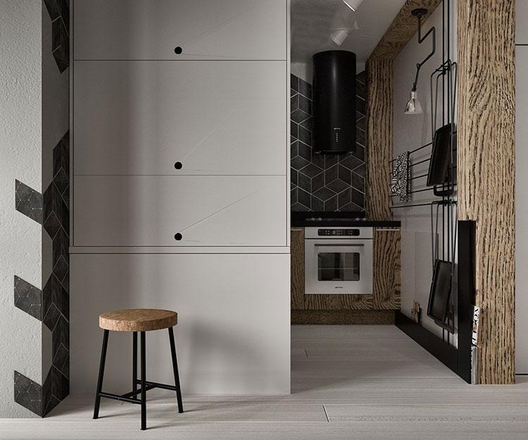 Come arredare una casa piccola in stile industriale for Casa piccola