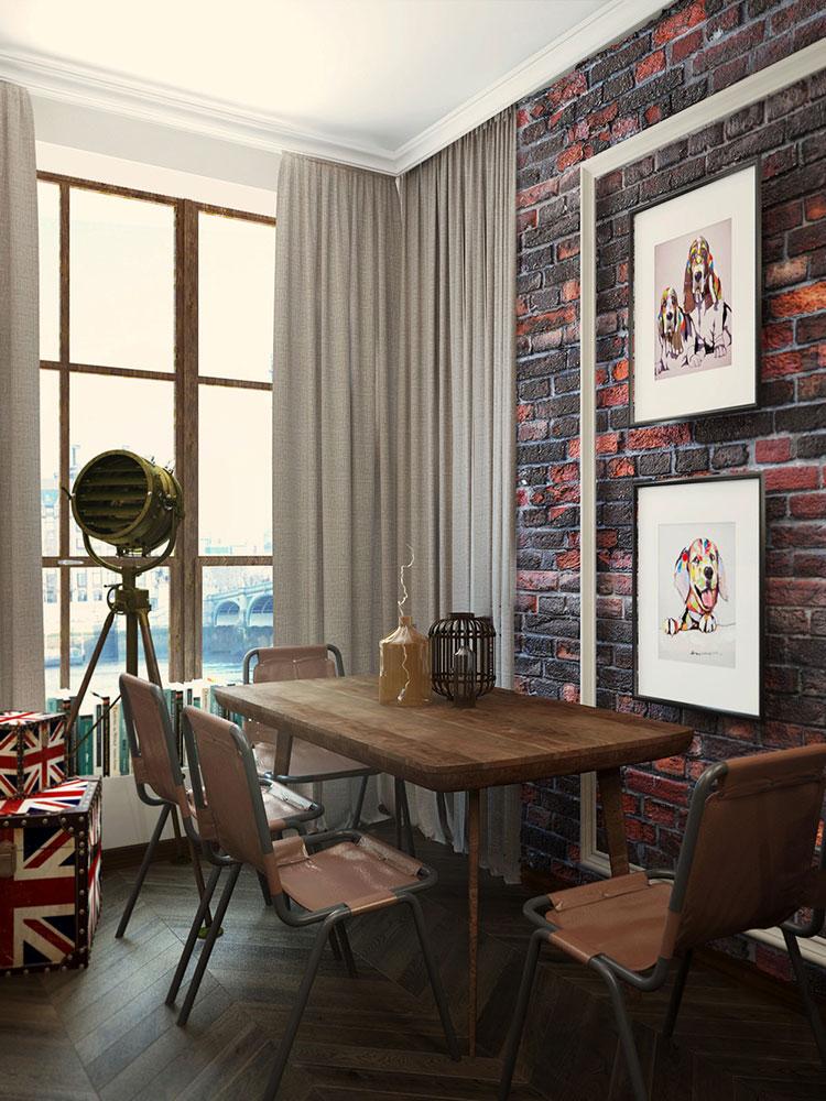 Idee per arredare una casa piccola in stile industriale n.15