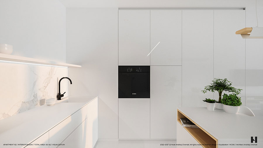 Idee per arredare una casa total white n.01