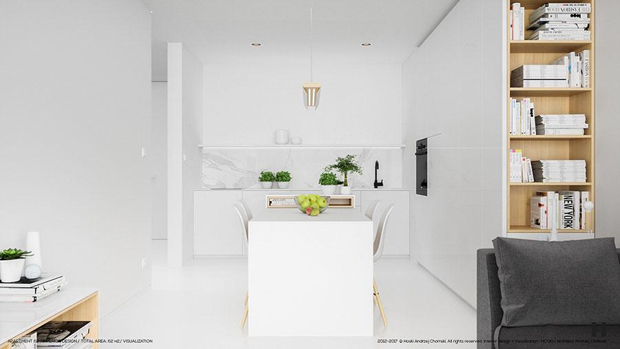 Idee per arredare una casa total white n.02