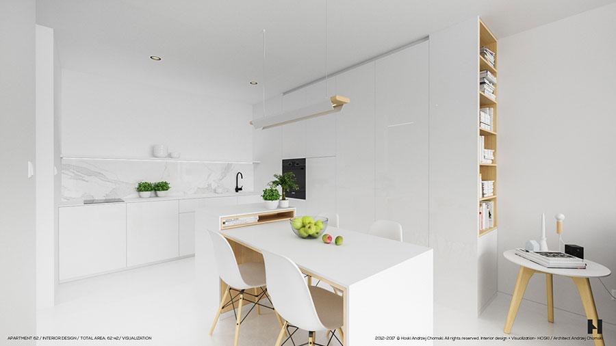 Idee per arredare una casa total white n.03