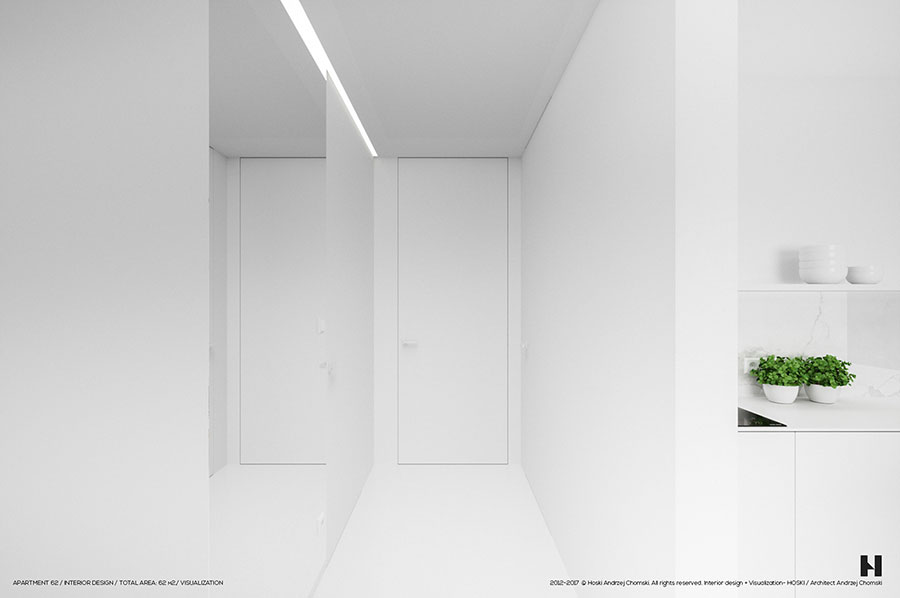 Idee per arredare una casa total white n.05