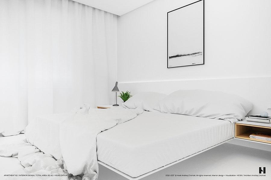 Idee per arredare una casa total white n.06
