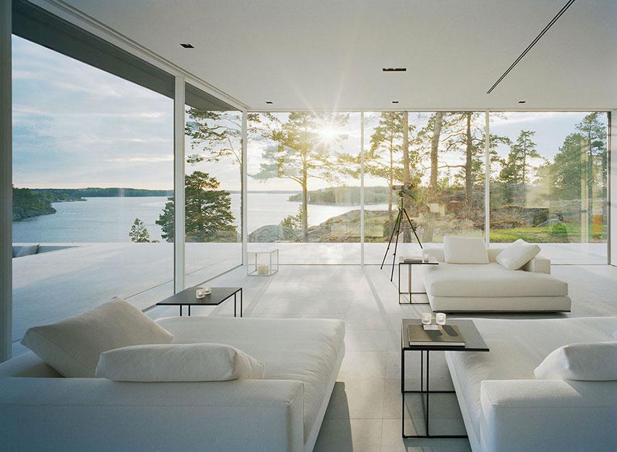 Idee per arredare una casa total white n.07