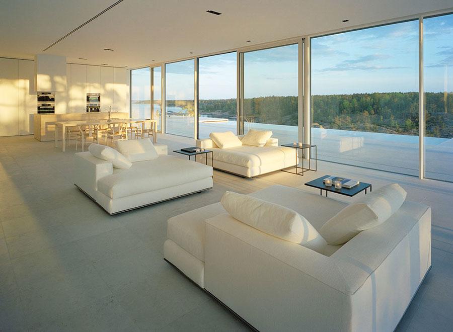 Idee per arredare una casa total white n.08