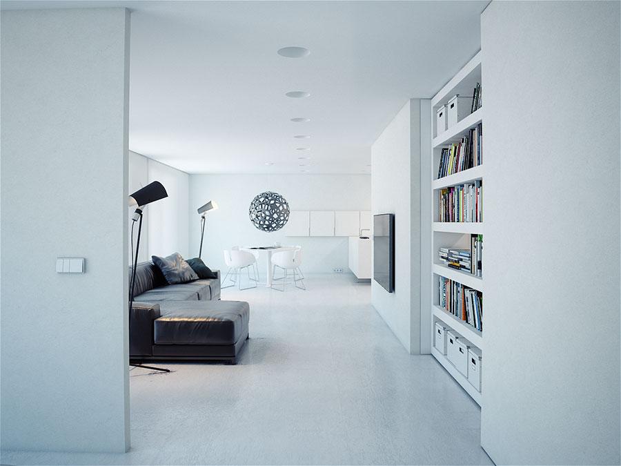 Idee per arredare una casa total white n.11