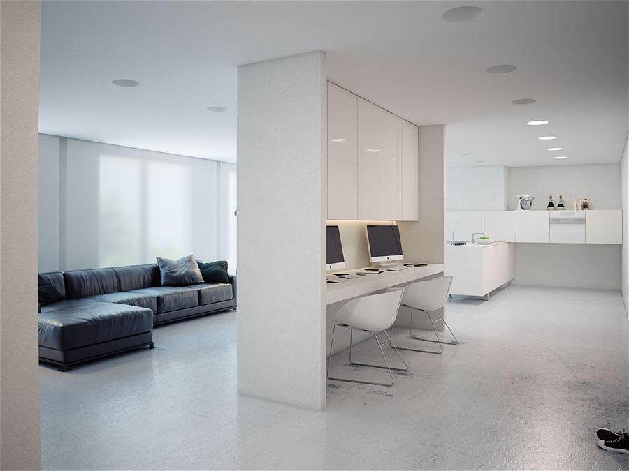 Idee per arredare una casa total white n.14