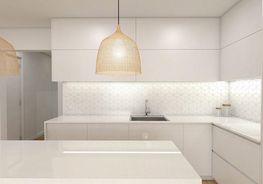 Idee per arredare una casa total white n.22