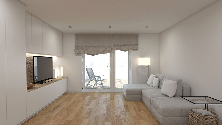 Idee per arredare una casa total white n.24