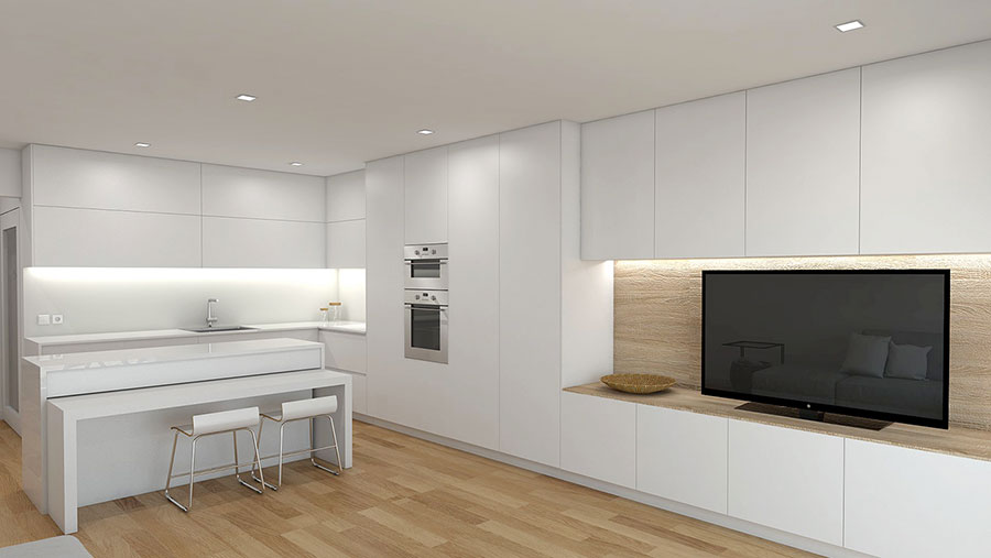 Idee per arredare una casa total white n.25