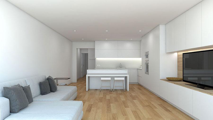 Idee per arredare una casa total white n.26