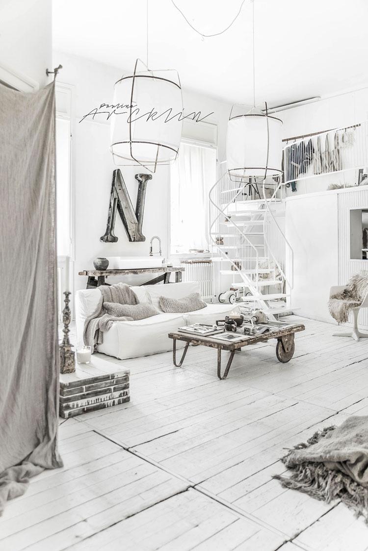 Idee per arredare una casa total white n.28