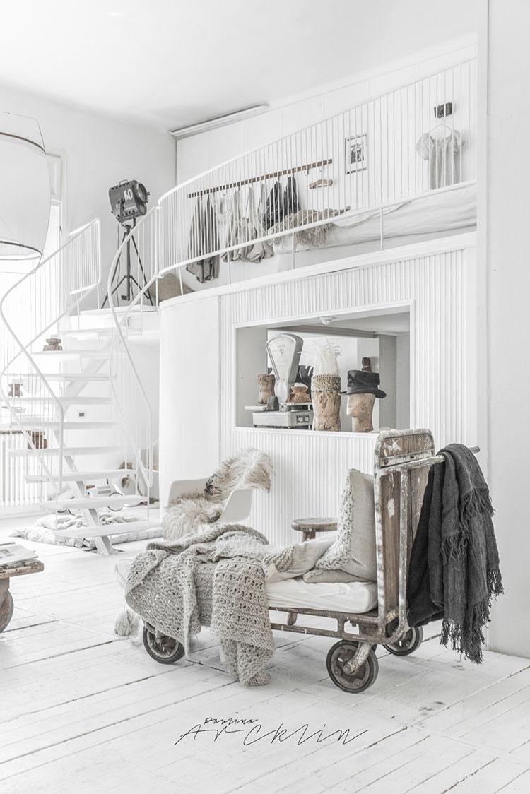 Idee per arredare una casa total white n.29