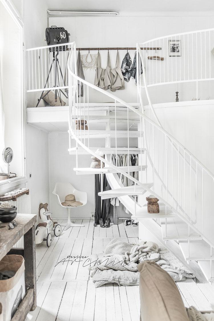 Idee per arredare una casa total white n.30