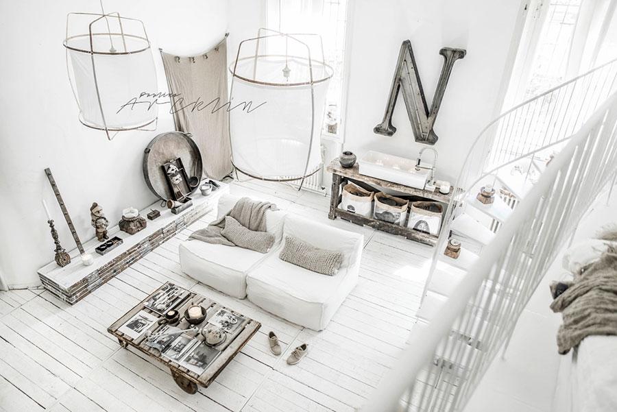 Idee per arredare una casa total white n.32