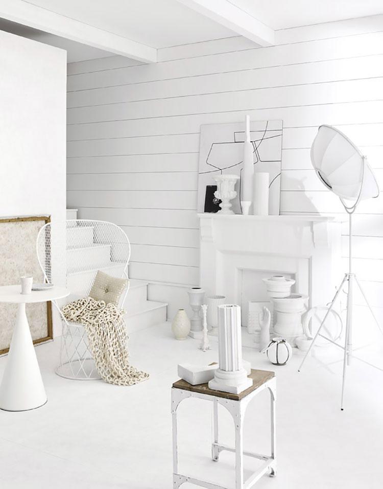 Idee per arredare una casa total white n.35