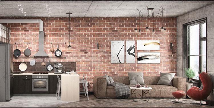 Come arredare una casa piccola in stile industriale for Arredamento moderno casa piccola