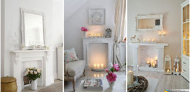 Camini Shabby Chic: ecco 40 Idee Originali e Decorative