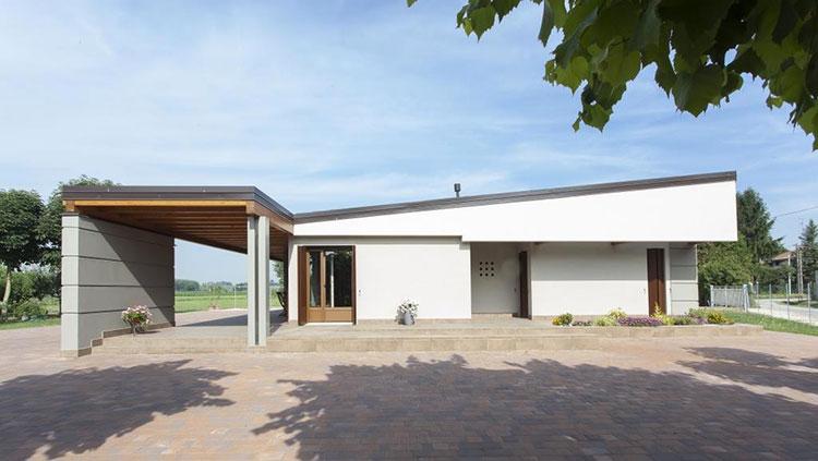 Casa in legno di CasaAttiva in Lombardia