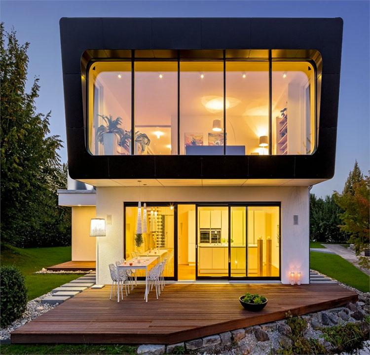 Casa in legno di Design Haus Italia in Lombardia