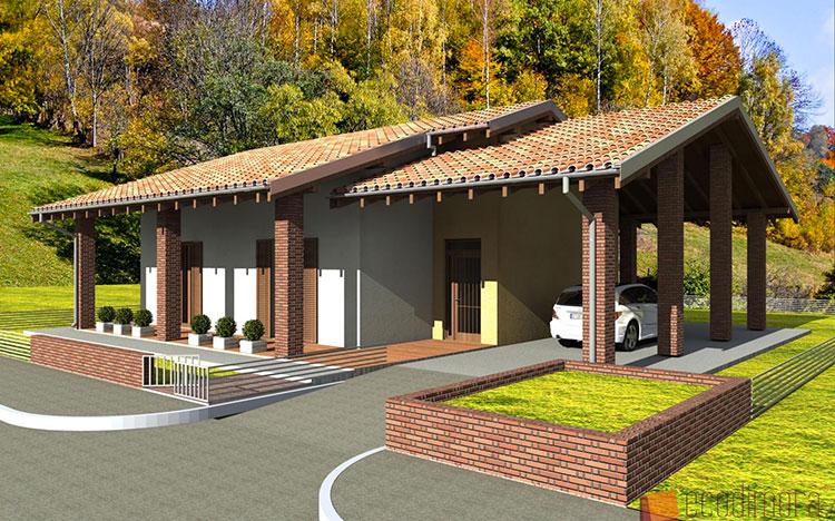Casa in legno di Ecodimora in Lombardia
