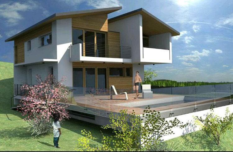 Casa in legno di Camua Case in Lombardia