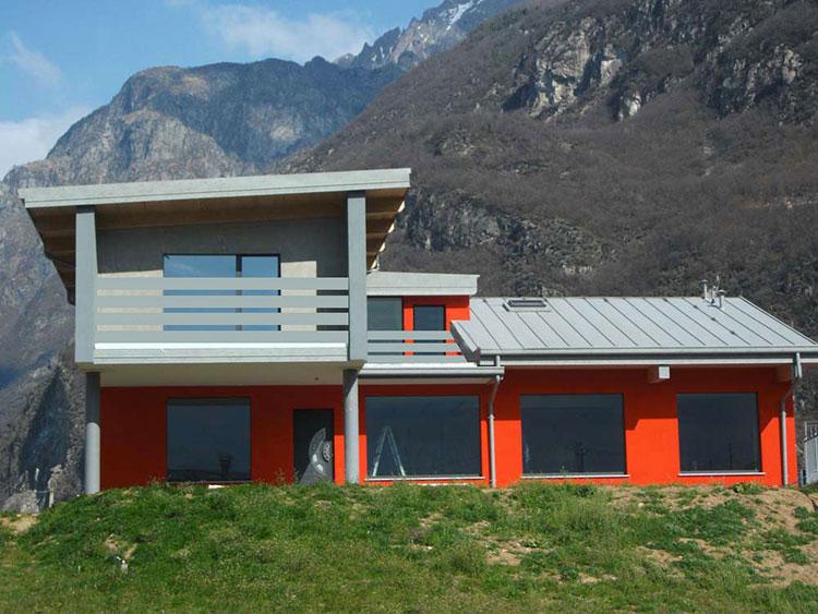 Casa in legno di Legno Tech in Lombardia