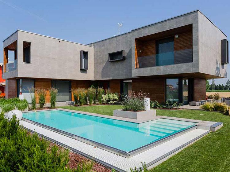 Casa in legno di Marlegno in Lombardia