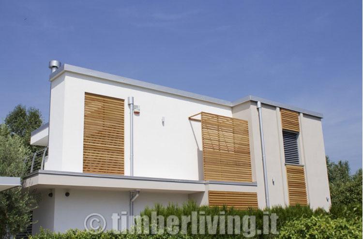 Casa in legno di Timber Living in Lombardia