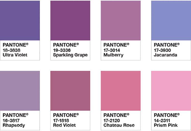 Abbinamenti di tendenza per pareti Pantone 2018 Kindred Spirits