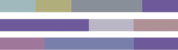 Come combinare le tinte Pantone 2018 Purple Haze