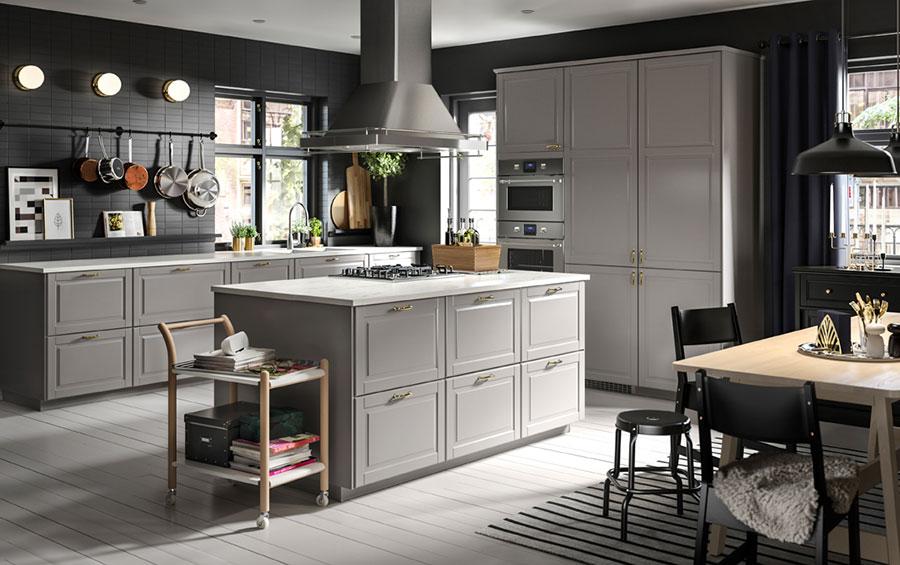 Modello di cucina in stile vintage Ikea n.3