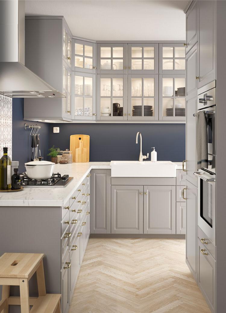 Modello di cucina in stile vintage Ikea n.4