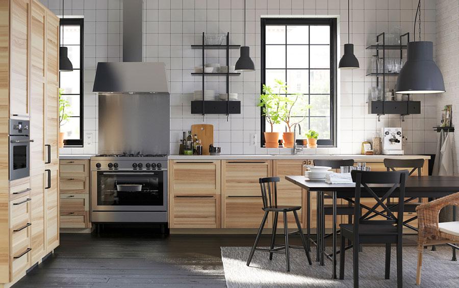 Modello di cucina in stile vintage Ikea n.5