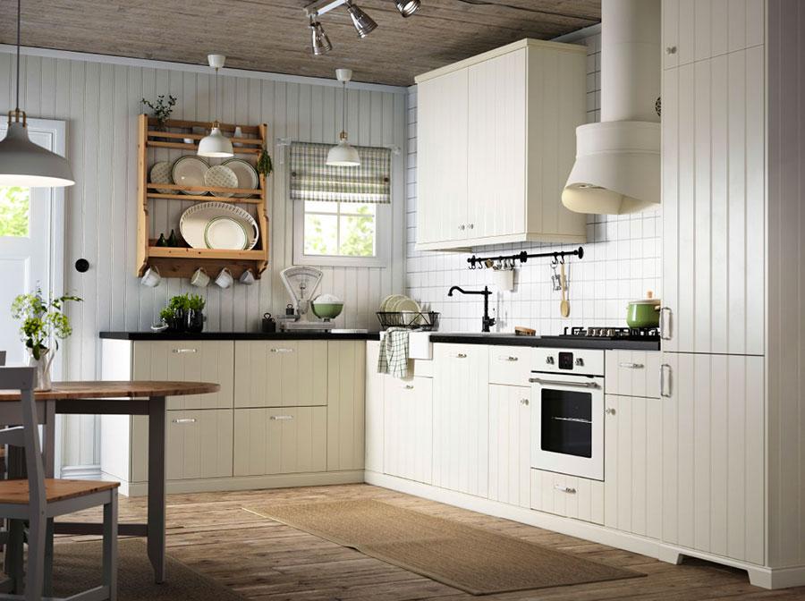 Modello di cucina in stile vintage Ikea n.6