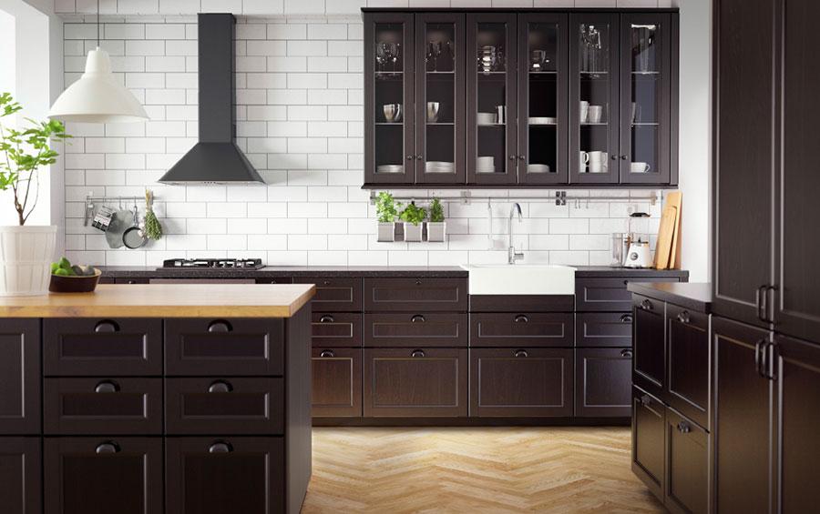 Modello di cucina in stile vintage Ikea n.7