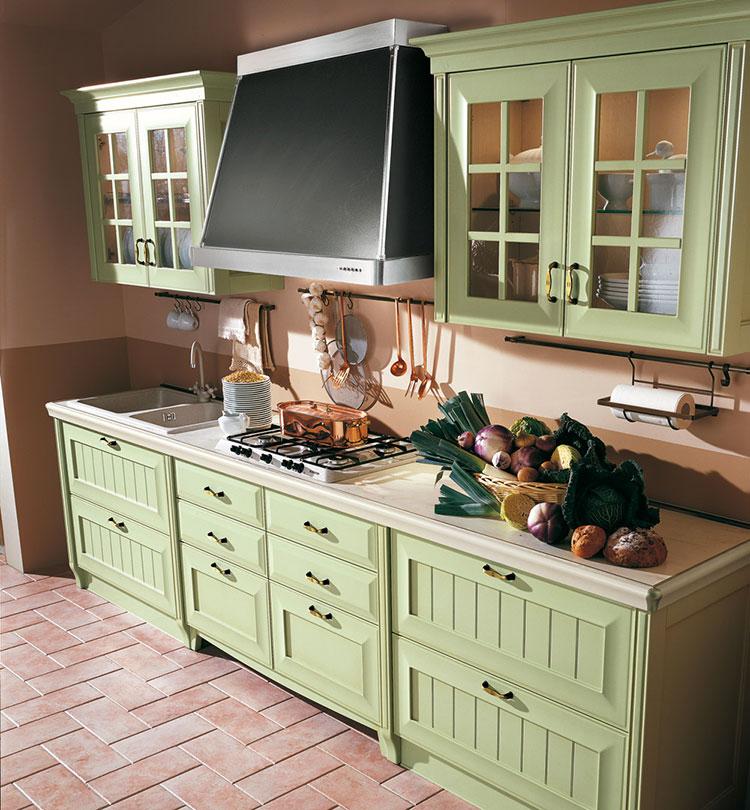 Modello di cucina in stile vintage Lube n.2
