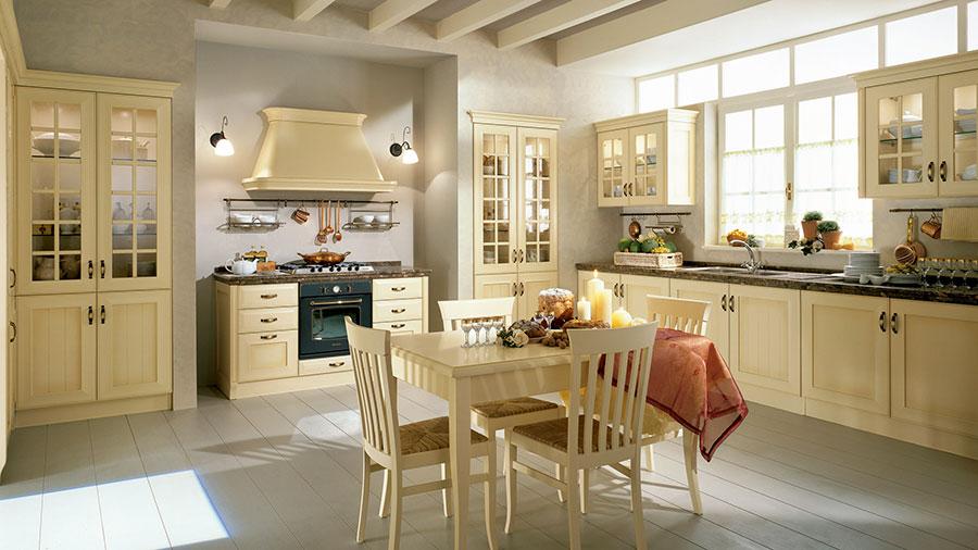 Modello di cucina in stile vintage Lube n.3