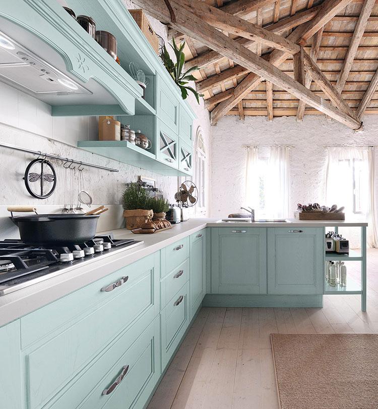 Modello di cucina in stile vintage Lube n.5