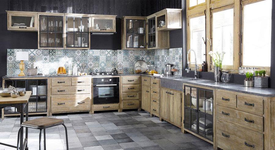 32 modelli di cucine vintage di varie marche - Cuisine style industriel ikea ...