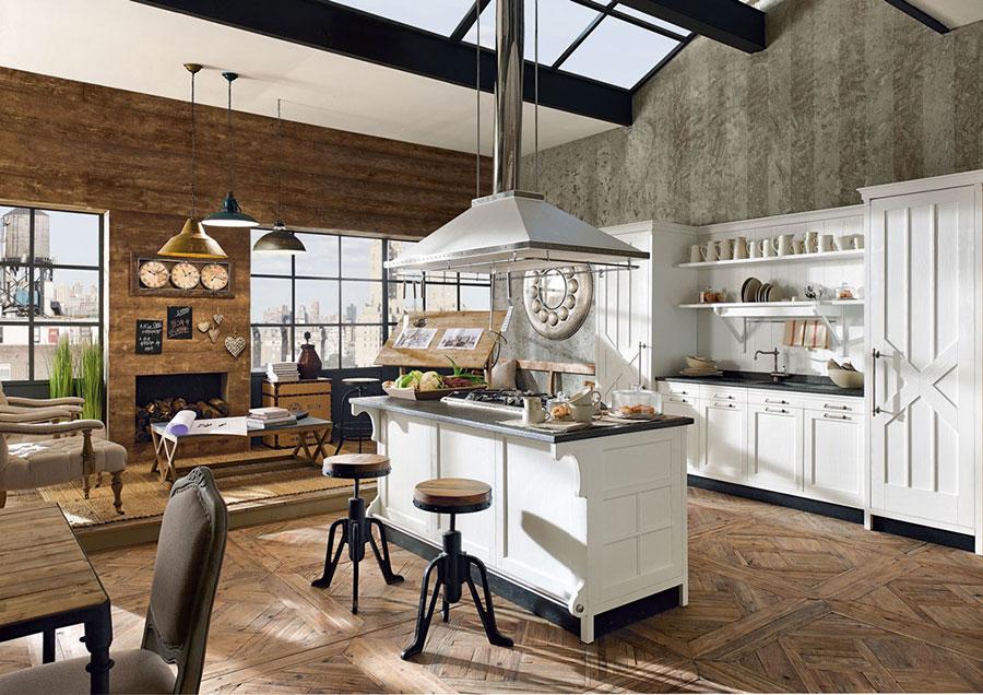 32 modelli di cucine vintage di varie marche for Arredamento vintage